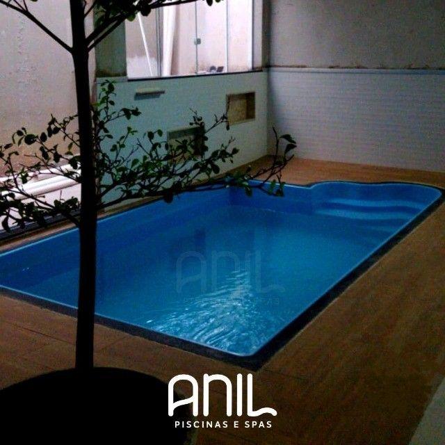 JA - Promoção piscina nova! Piscina de fibra 4 metros - Foto 3
