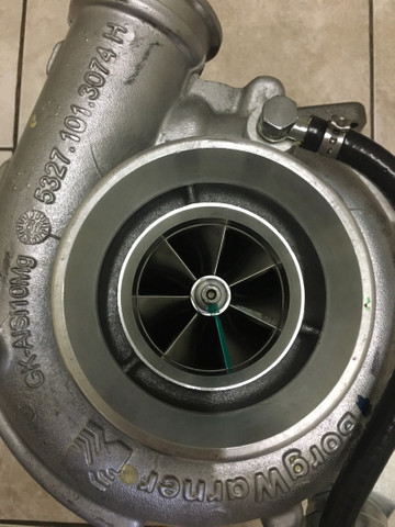 Turbina K27 Plus Valvulado Motor Cummins 6btaa Isbe6 Vw 172 - Foto 2