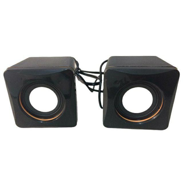 Mini caixa de som para Pc ou Notebook - Foto 4