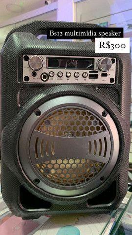 Caixa bluetooth Bs12 multimedia speaker