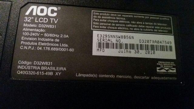 TV LCD 32 polegadas - Foto 2