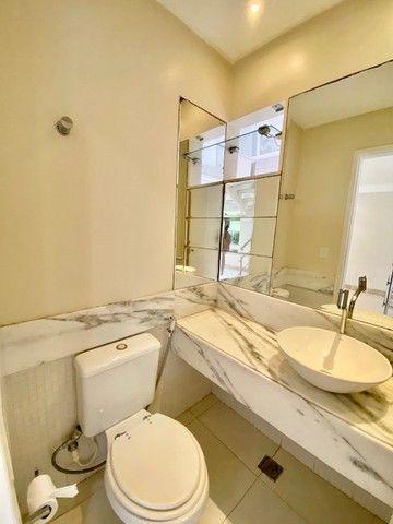 Casa moderna, clean, 4 quartos piscina privativa, condomínio fechado com portaria 24h - Foto 17