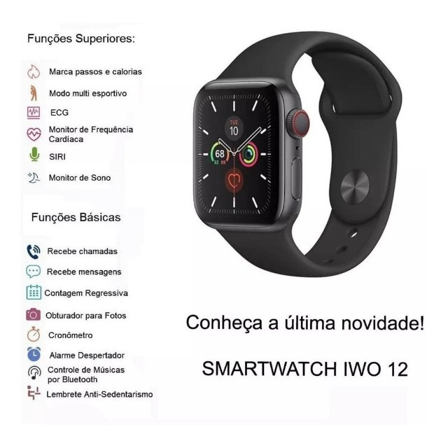 Relogio Smartwatch Iwo Max T500 - Foto 2