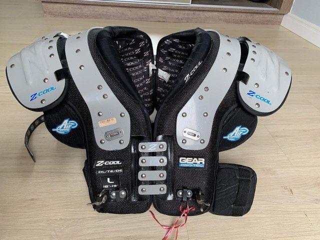 Shoulder Pad Adulto Gear Pro-tec Z-cool Linemans Large - Foto 2