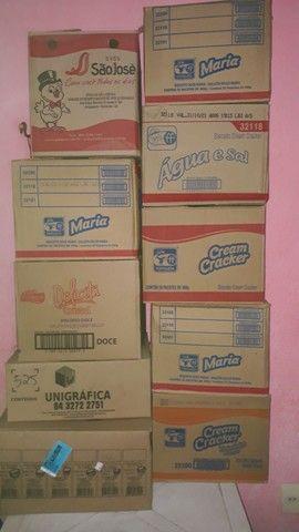 10 caixas de papelão só hoje - Foto 6