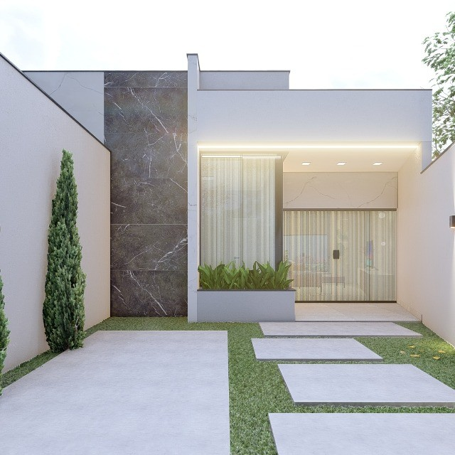 Linda casa baixa 3 quartos. Jardim Real em Pinheiral! Oportunidade na planta! - Foto 2