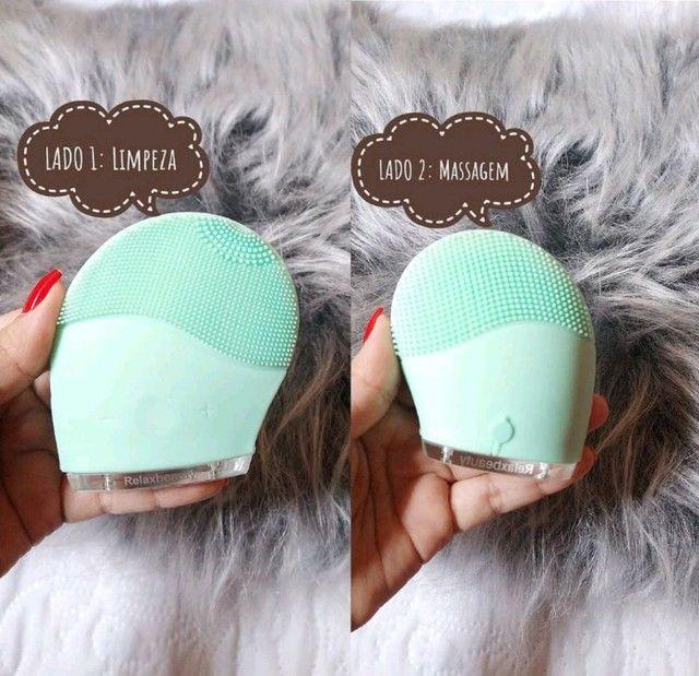 Esponja de limpeza Facial Relaxbeauty/Alfa .(produto novo na caixa) - Foto 5