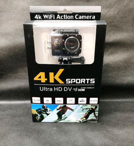 Câmera filmadora Wifi 4k ultra HD 16 a prova d'água - Foto 2