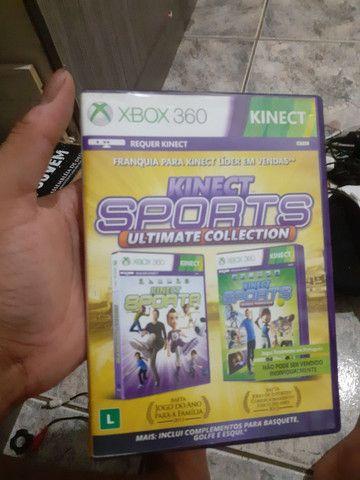 Kinect sports 1 e 2 Xbox 360