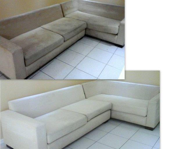 Lavação e higienização de sofás e colchões