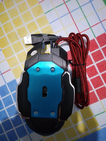 Mouse Gamer 6 Botões Professional USB RGB Novo Lacrado!!! - Foto 5