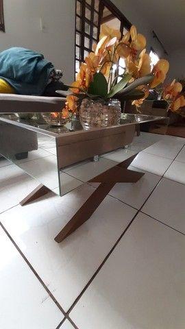 conjunto aparadores espelhados + espelho - Foto 4