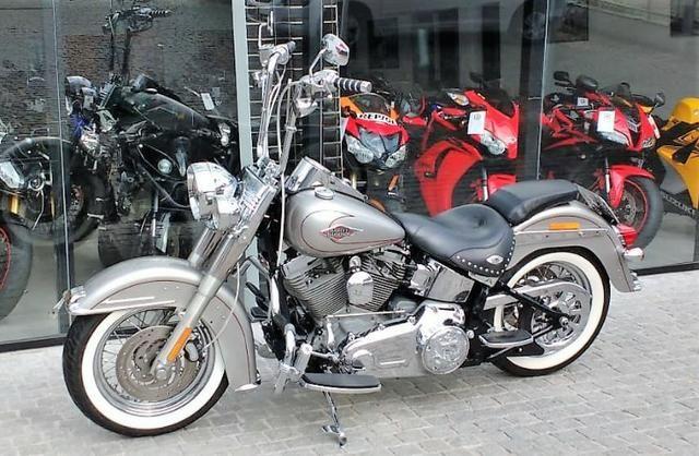 Harley-davidson Softail Deluxe Flstn - Foto 2