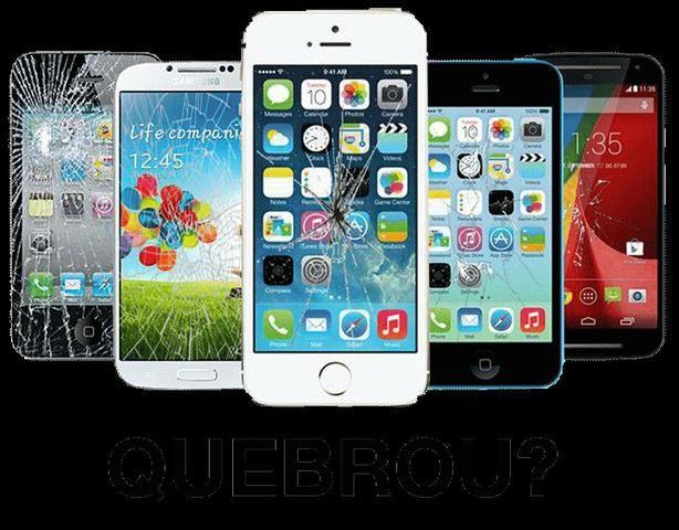 Troca de vidro touch de celulares só 50 reais