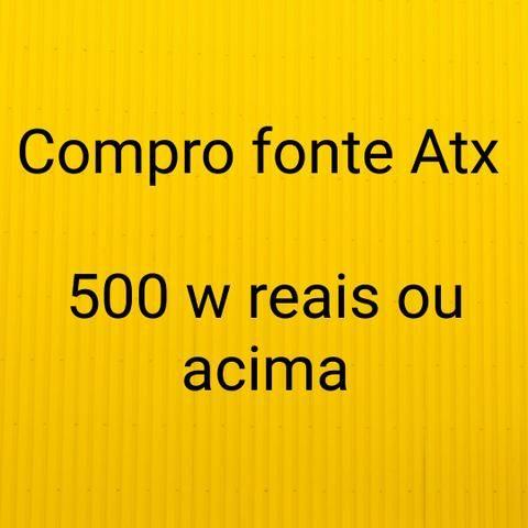 Compro fonte atx 500w
