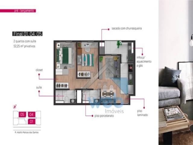 Apartamento, boa vista,dois quartos - Foto 3