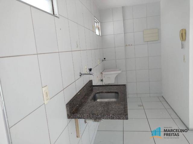 Apartamento com 3 dormitórios para alugar, 63 m² por R$ 1.509/mês - Monte Castelo - Fortal - Foto 5