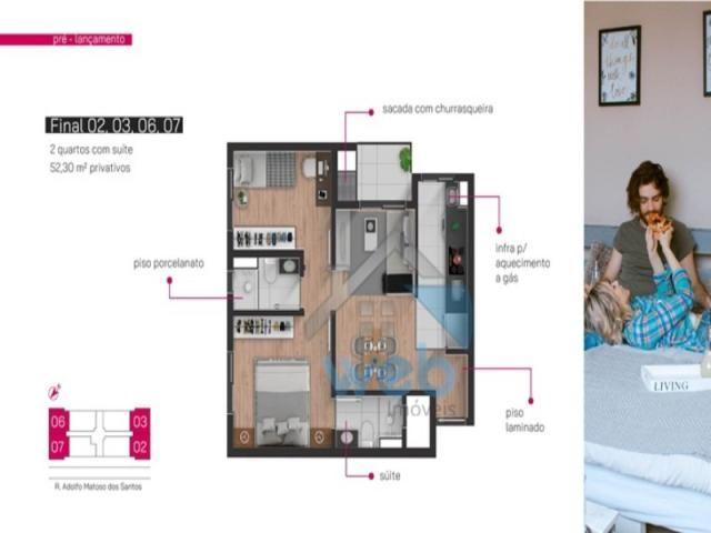 Apartamento, boa vista,dois quartos - Foto 4