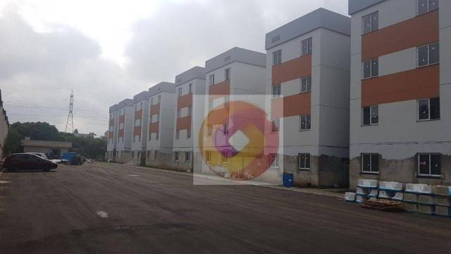 Apartamento com 2 dormitórios à venda, 52 m² por R$ 173.500 - Cidade Industrial - Curitiba - Foto 4