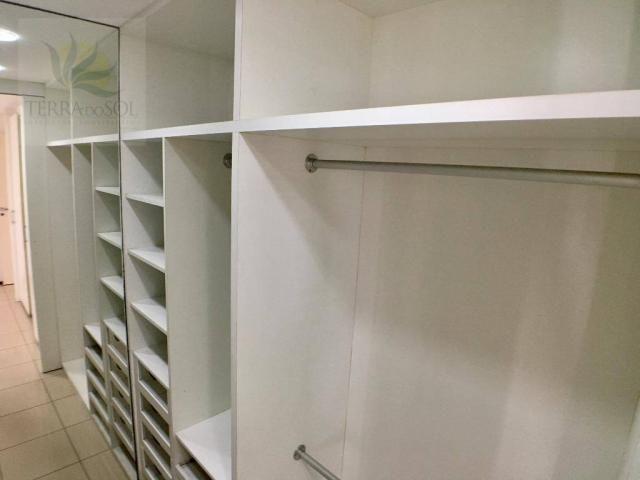 Apartamento com 3 dormitórios à venda, 149 m² por R$ 875.000 - Guararapes - Fortaleza/CE - Foto 18
