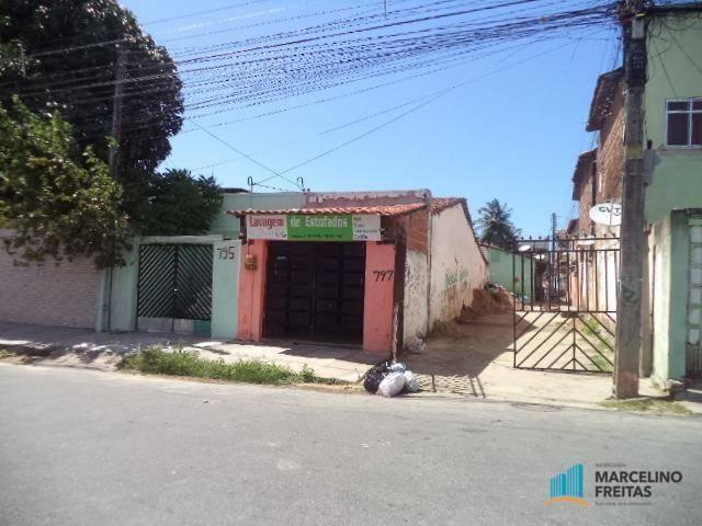 Casa com 1 dormitório para alugar, 30 m² por R$ 259,00/mês - Cristo Redentor - Fortaleza/C