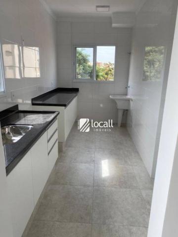 Apartamento com 1 dormitório para alugar, 55 m² por r$ 1.300/mês - vila são pedro - são jo - Foto 3