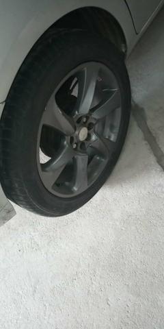 Rodas aro 17 pneus Zero - Foto 4