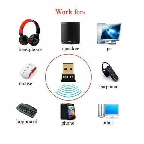 Adaptador Bluetooth 4.0 Para Pc E Notebook - Foto 2