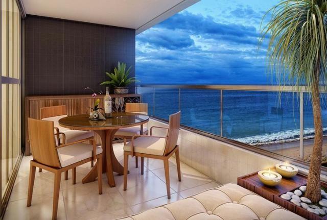 Jacarecica - Apartamento beira mar com 3 suítes - Foto 17