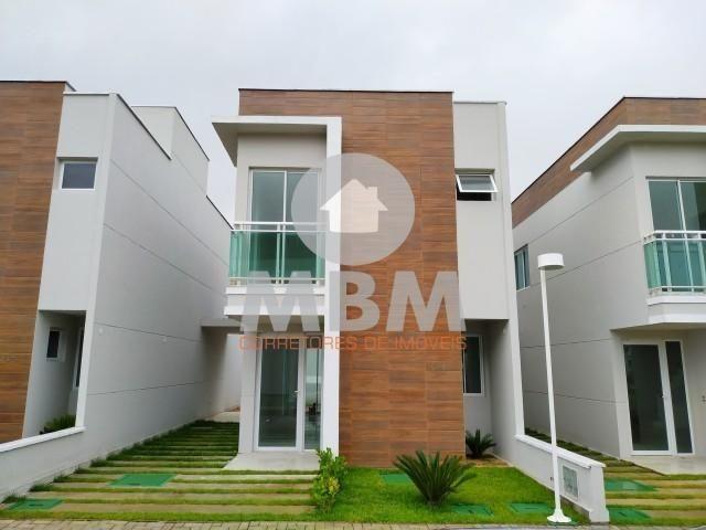Vendo casa em condomínio no Eusébio com 96 m², 3 quartos e 2 vagas. 324.900,00