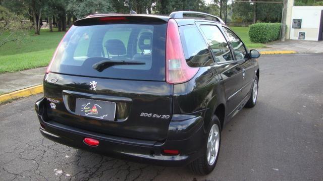 Peugeot 206 SW!!!R$ 13.900,00 !!!Feline 1.6 Completassa!!! - Foto 10