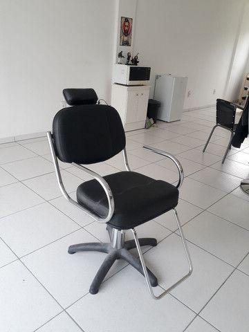 Cadeira de barbeiro/cabelereiro
