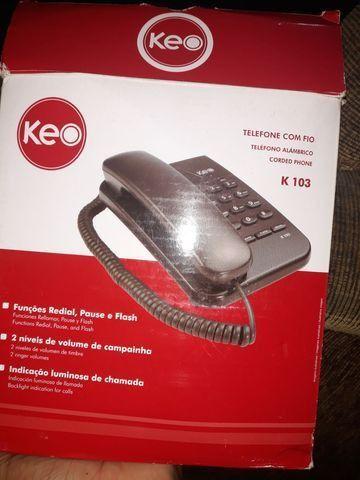 Telefone com fio