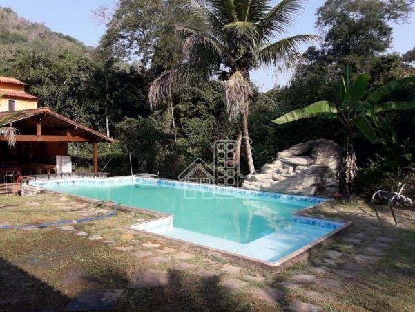 Sítio com 5 dormitórios à venda, 3008 m² por R$ 900.000,00 - Itaocaia Valley (Itaipuaçu) - - Foto 2