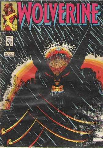 Kit 5 revistas quadrinhs Marvel: Wolverine e Conan