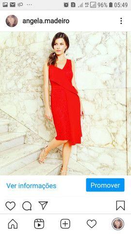 Vestido vermelho Mauy