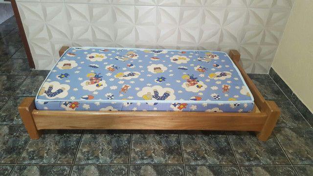 Cama infantil de madeira montessoriana - Foto 2