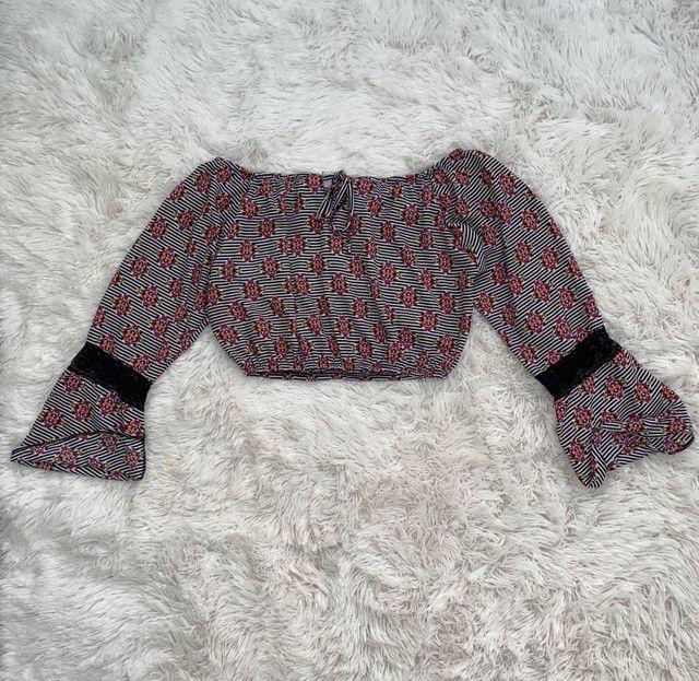Cropped ciganinha