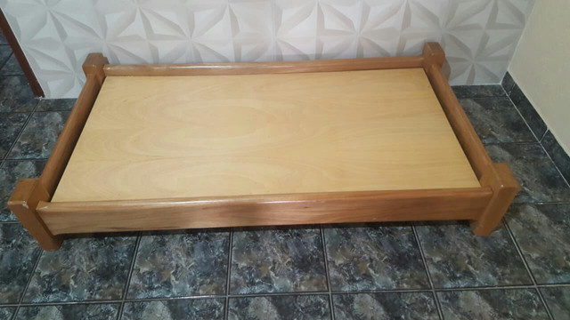Cama infantil de madeira montessoriana - Foto 5