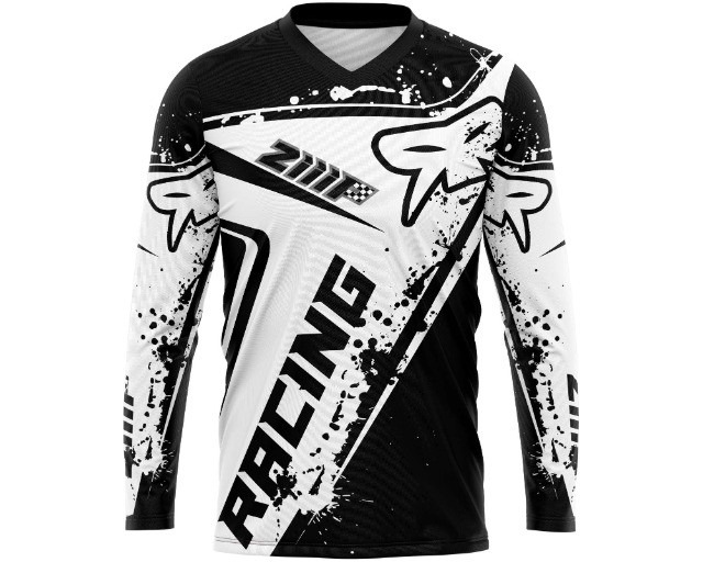 Camisa de motocross trilha personalizada - Foto 6