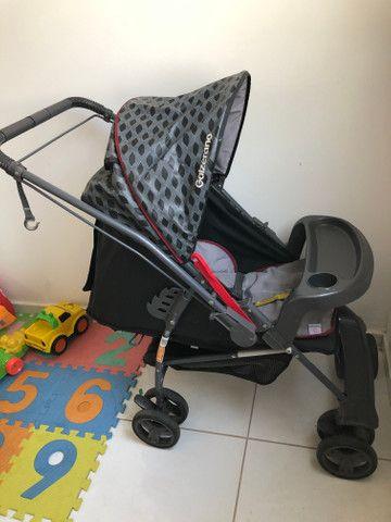 Vende-se carrinho de bebê Galzerano - Foto 4