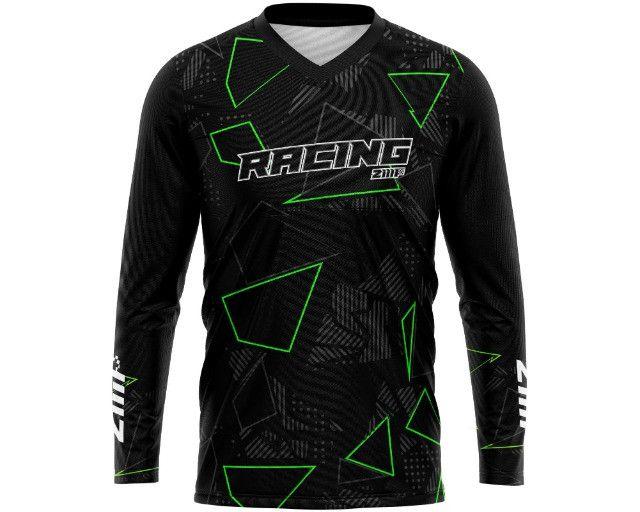 Camisa de motocross trilha personalizada - Foto 5