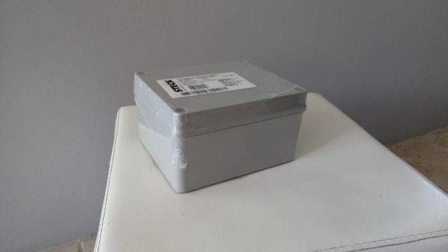 Caixa em termoplástico de sobrepor, dim. 170x145x90, Steck - Foto 2