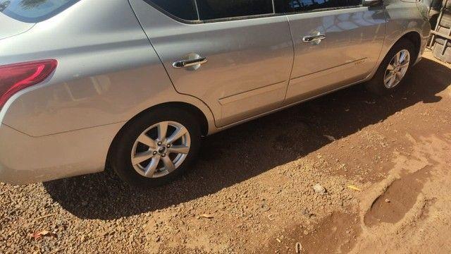 Sucata Nissan Versa 2013 Revisado Para Retirada Para Peças - Foto 12
