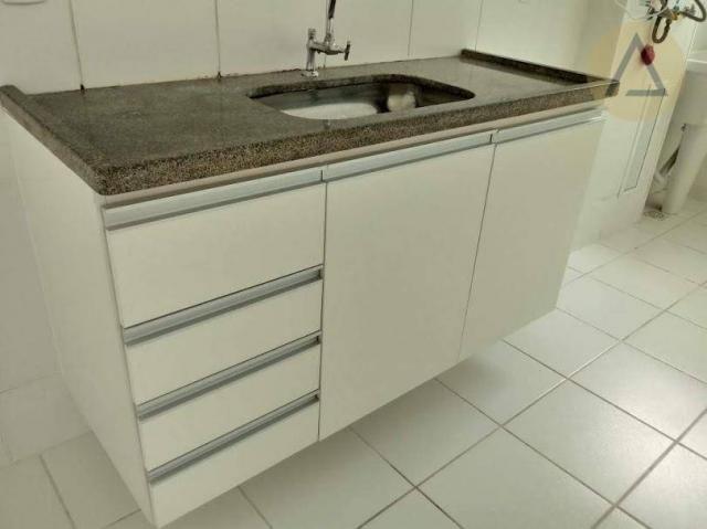 Atlântica imóveis tem excelente apartamento para locação/venda no bairro Glória em Macaé/R - Foto 10