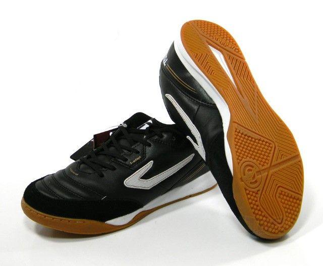 Chuteira Futsal Topper Maestro PRO 3 preto tam: 37 ao 42 - Foto 3