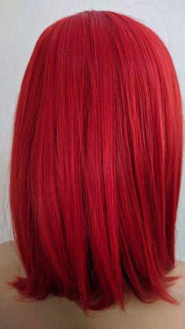 Wig comum fibra futura nova - Foto 2