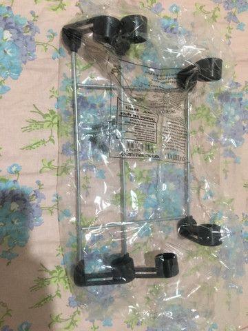 Suporte de Papel Toalha Alumínio Lacrado - Foto 2