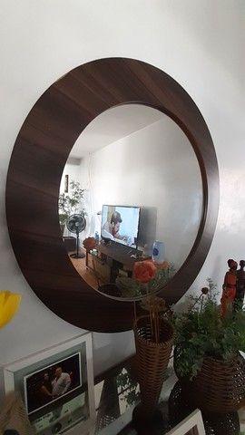 conjunto aparadores espelhados + espelho - Foto 2