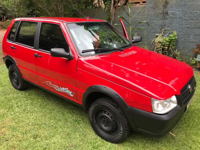 Fiat uno Mille way fire economy 1.0 2013